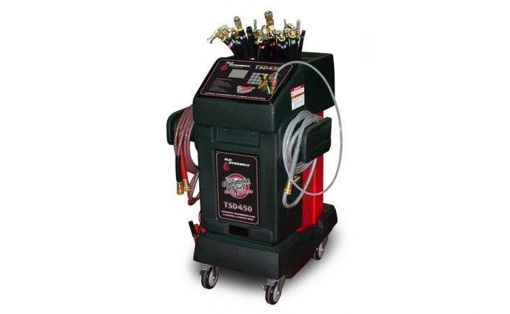 TSD450-LCD for flushing av automatgirkasse